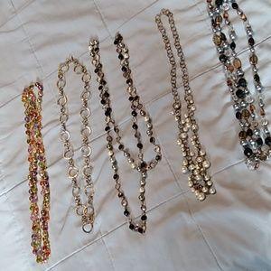 Premier Designs Bundle 5 Long Necklaces